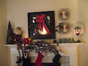 My Mantle at Christmas