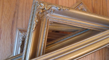 frames set of six unique gold frames 4800 great inspiration for art