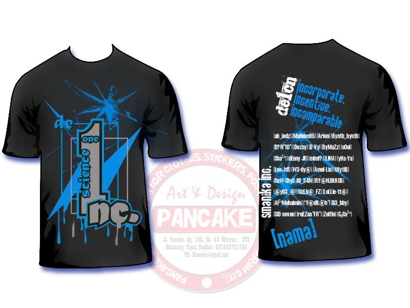 PanCake Merchandise: Desain Clothing Pancake26