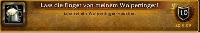 wow braufest erfolg achievement lass die finger von meinem wolpertinger!