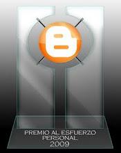 Premio Esforço Pessoal 2009