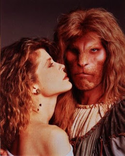 Catherine and Vincent in Beauty and the Beast TV Series