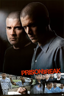 Wentworth Miller as Michael Scofield and Dominic Purcell as Lincoln Burrows in Prison Break