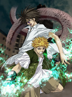 Ginji Amano and Ban Mido of GetBackers