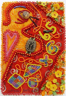 bead embroidery, Robin Atkins