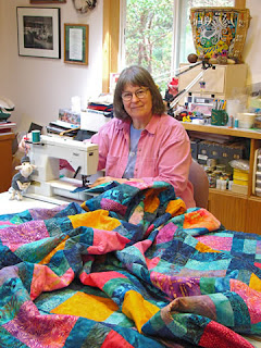 quilt by Robin Atkins, machine quilting