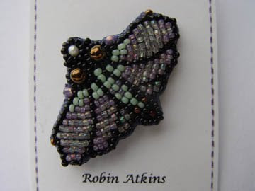 moth pin by Robin Atkins, original unedited picture