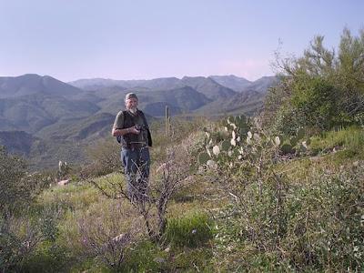 Pine Creek loop trail, Hwy 87 NE of Phoenix AZ, photo by Robin Atkins