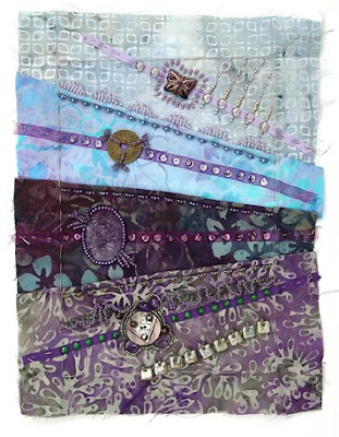 Bead Journal Project, September, Robin Atkins, showing edges