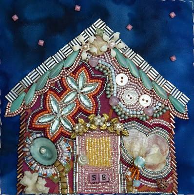 bead journal project, Returning Home, by Susan Elliott