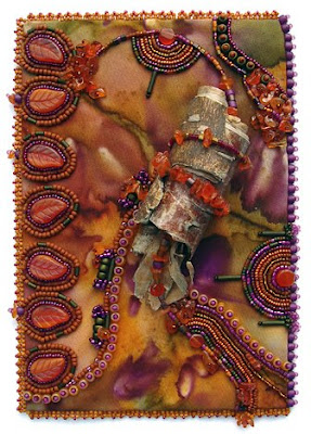Bead Journal Project, Christi Carter, bark, Madrona trees