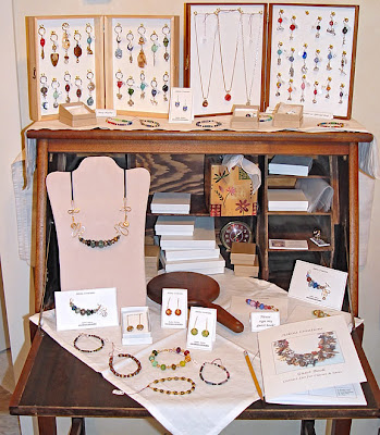 Robin Atkins jewelry display