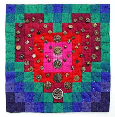 patchwork quilt by Robin Atkins
