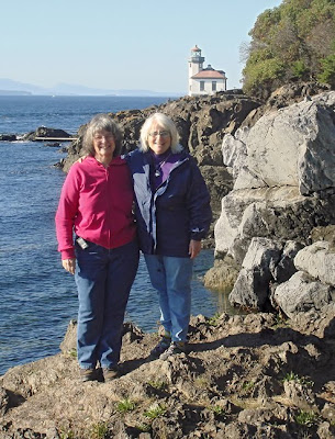 Elaine Hartley and Robin Atkins, Lime Kiln Lighthouse