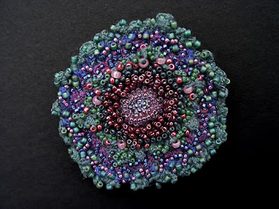 Tide Pool - pin/brooch by Elaine Hartley