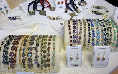 bead jewelry by Robin Atkins, bracelets