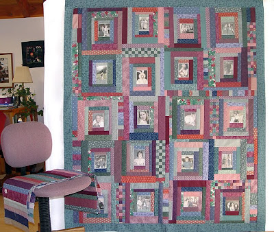 Margaret's quilt, center top is complete, needs piano key borders to finish