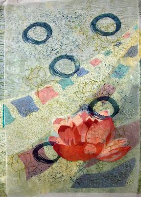 Karin Franzen workshop, lotus by student