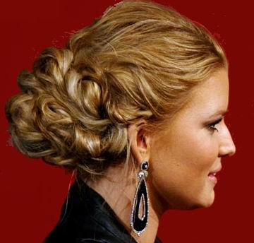side bun prom hairstyles. Side Braid Hairstyles. side