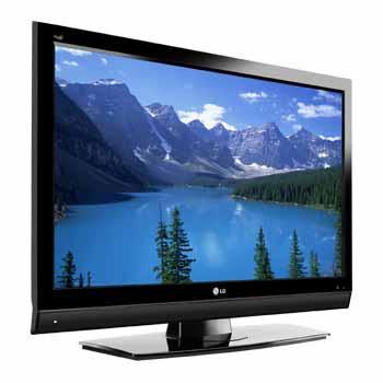 Foto da TV de LCD ou Plasma da marca LG