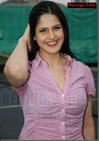 zarine khan hot kiss. Actress Zarine Khan hot