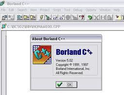 Borland C++ 5.02 Para Windows 7