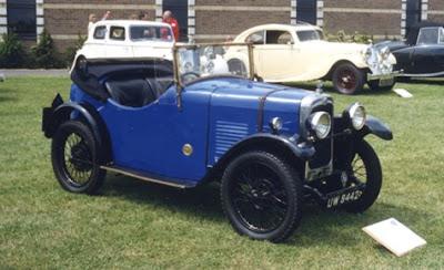 Triumph Super 7-cars