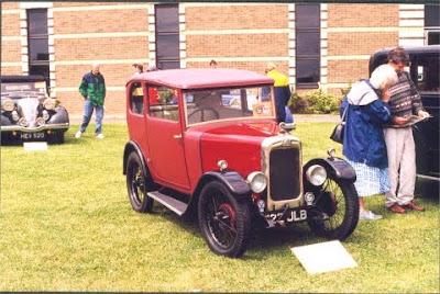 Triumph-Super 7 cars