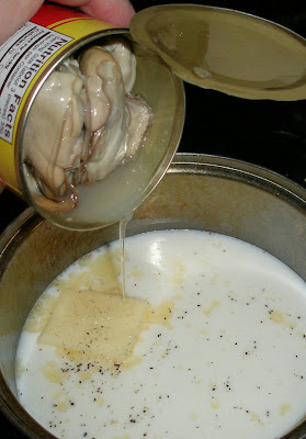 how to prepare canned oysters