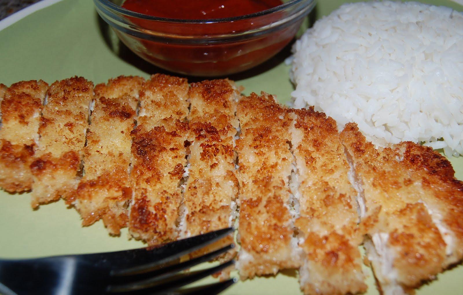 Jaime and Jen Dish: Chicken Katsu & Homemade Tonkatsu Sauce