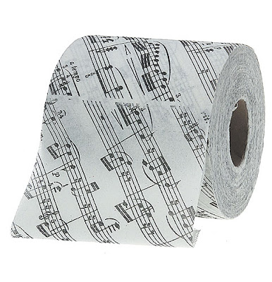 How to use Toilet Paper. Musical-toilet-paper