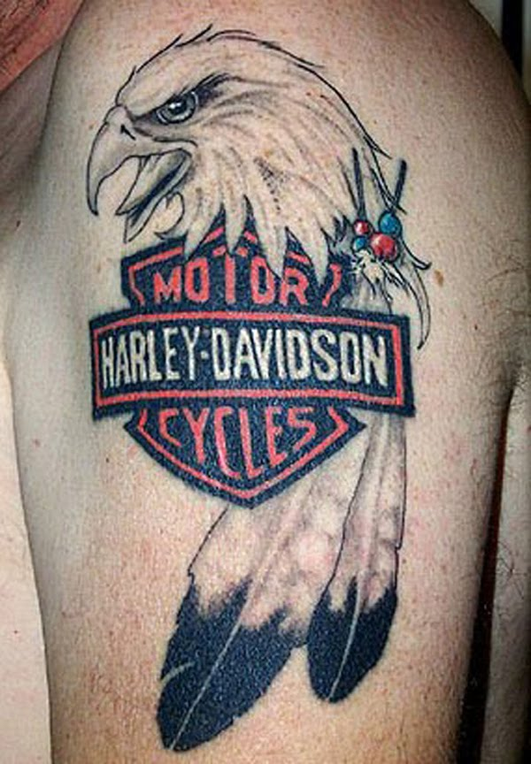 how to make a tatoo harley davidson tattoos are a way of paying tribute to the bike. Black Bedroom Furniture Sets. Home Design Ideas