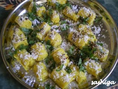 Oats Khandvi