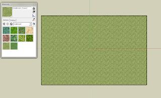 Tekstura trawy na prostokącie