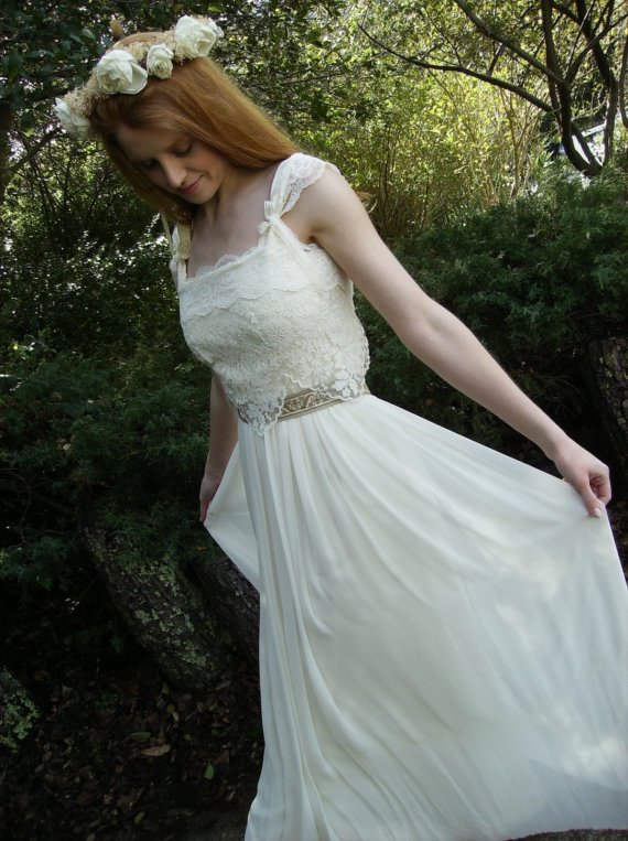 WEDDING DRESSES SO YOU WANT TO BE A BOHO BRIDE Custom Wedding Dress