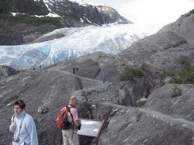 what do i know exit glacier was here