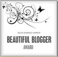 beautiful blogger award...