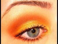 Machiaje in nuante de portocoliu