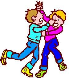 Teens Fighting