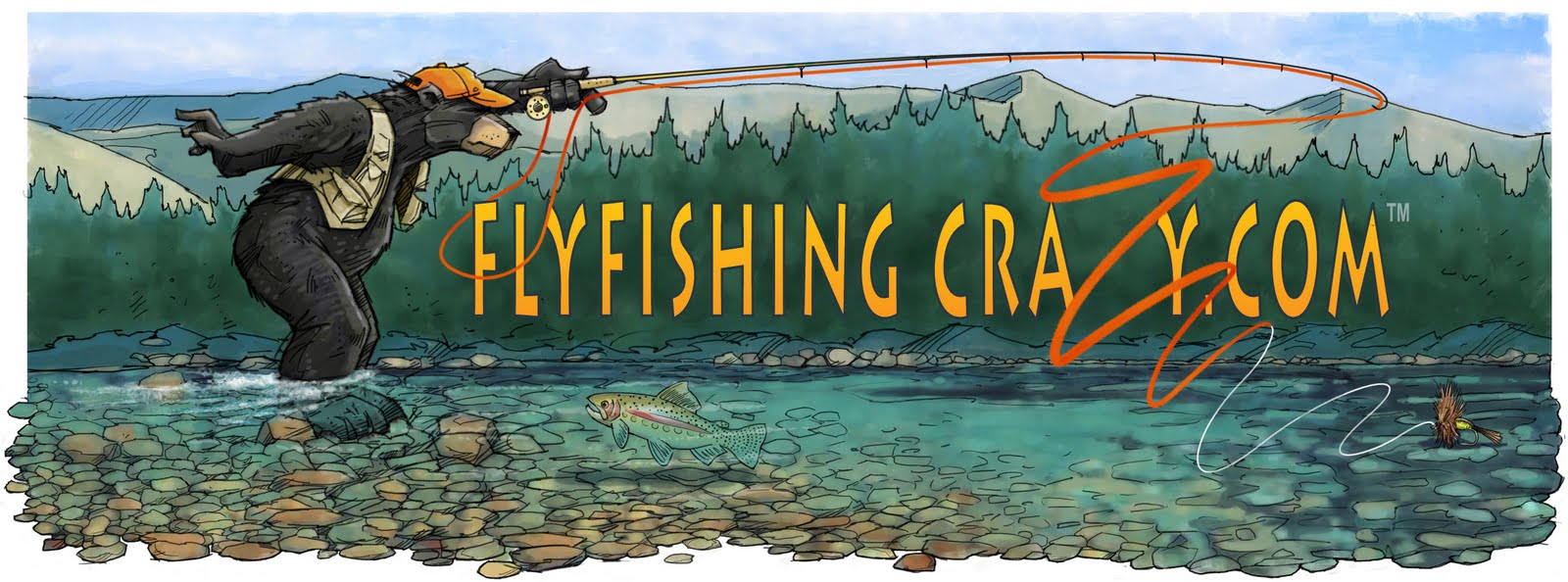 Fly fishing crazy for Crazy fishing videos