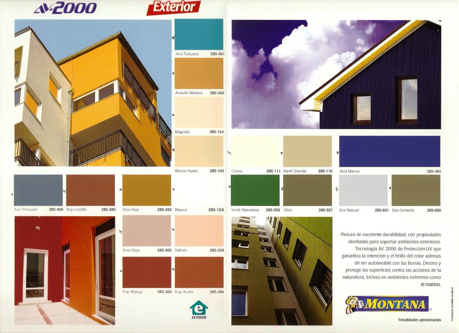 Inversiones fertorca c a pinturas av 2000 dekoral pinco for Pintura para exteriores