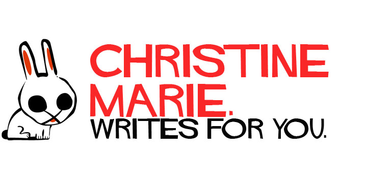 christine writes for you.