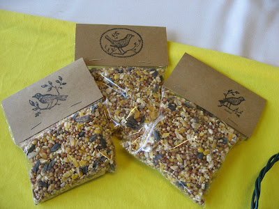 Wedding Favors Seed Packets on Simple Bird Seed Packet To Create For A Wedding Or Party Favor