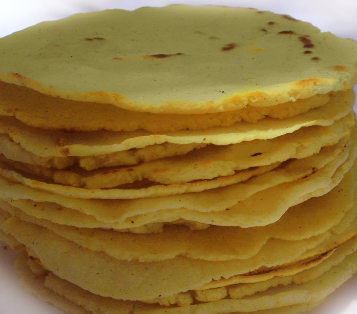 Handmade+Tortillas+Masa Vegetarian Yogini: Homemade Corn Tortillas ...
