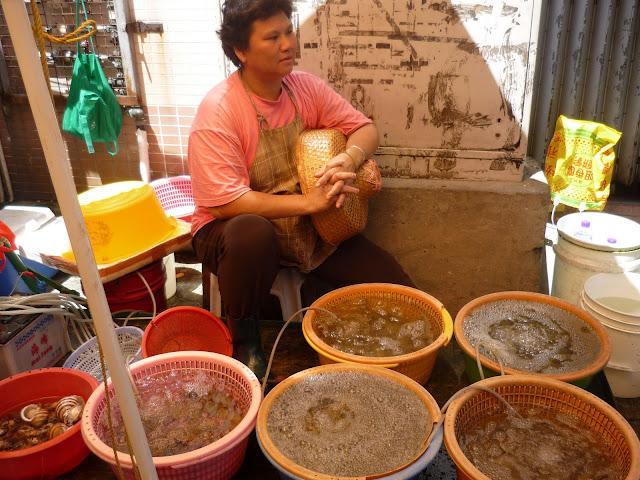 Tai O Village, Lantau Island, seafood