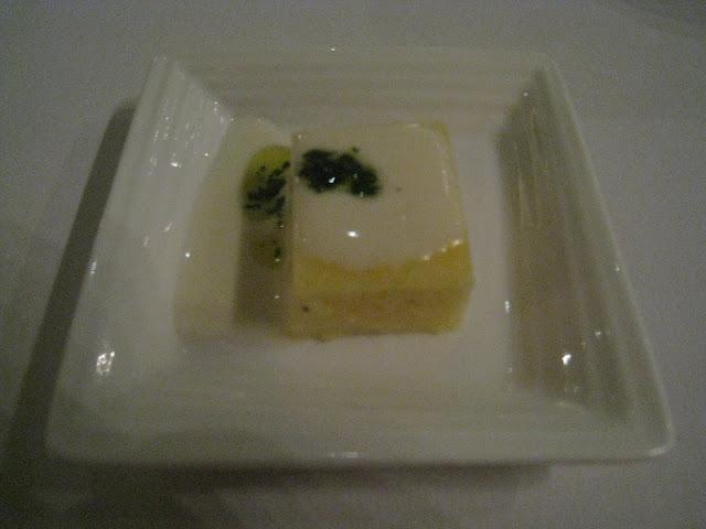 Garibaldi, Cheese Amuse Bouche