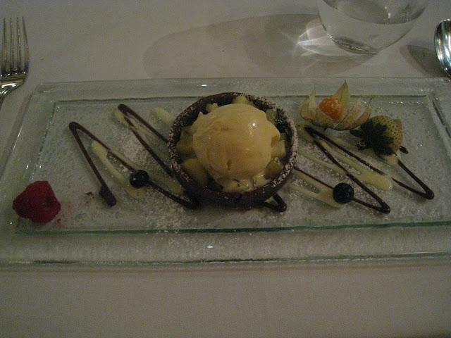 Garibaldi, Dessert, Vanilla Ice Cream, Chocolate