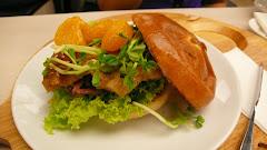 Duck Confit Burger