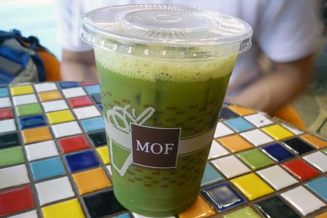 MOF, Japanese Iced Matcha
