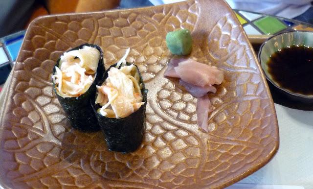 MOF, Japanese Kani Salad Gunkan Sushi